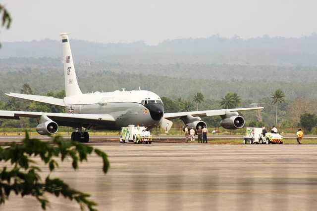 Militer AS Masih Tunggu Tim Recovery Mesin Pesawat Tiba di Aceh