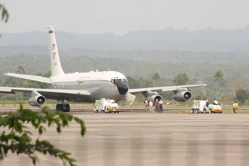 TNI AU Awasi Tentara Amerika Serikat Selama di Aceh