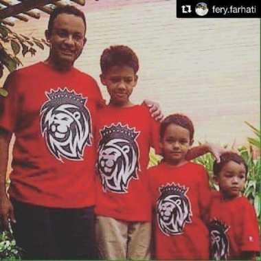 Berkaos Kembar, Siapa Anak yang Paling Mirip Anies Baswedan?