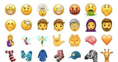 48 Emoji Terbaru Bakal Hadir ke Ponsel Pintar