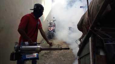 Ratusan Rumah Di-Fogging, Warga Pekanbaru: Terima Kasih Perindo