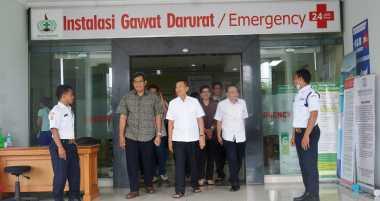 Jelang Hari Raya Nyepi, Gubernur Bali Sidak Kesiapan Sejumlah Rumah Sakit