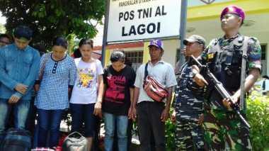 TNI AL Gagalkan Pengiriman 30 TKI Ilegal ke Malaysia