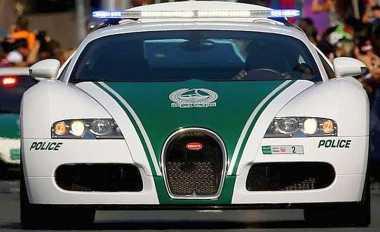 TOP AUTOS: Mobil Polisi Tercepat Ada di Dubai