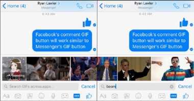 Pengguna Facebook Segera Bisa Kirim GIF di Komentar