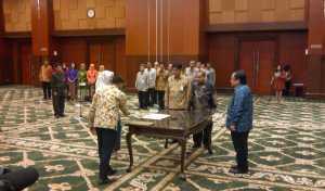 Lantik 109 Pejabat Kemenkeu, Sri Mulyani: Yang Anda Jalankan Atas Nama Negara