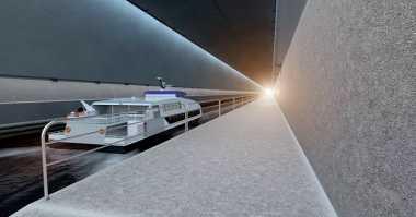 Mirip Hyperloop, Negara Ini Ciptakan Terowongan Khusus Kapal