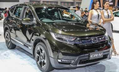 Penampakan Honda CR-V 7 Seater di Bangkok Motor Show