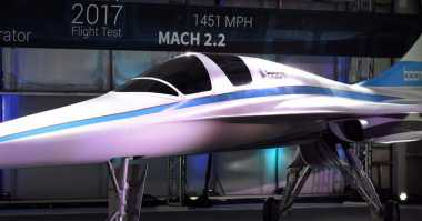 Startup Ini Usung Pesawat Super Cepat