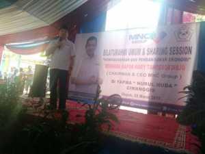Dorong Wirausaha, Hary Tanoe Disambut Antusias 600 Santri di Depok