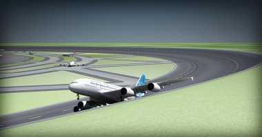 Desain Runway Melingkar di Bandara Siap Diaplikasikan