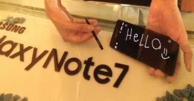 Samsung Indikasikan Jual Galaxy Note 7 Rekondisi