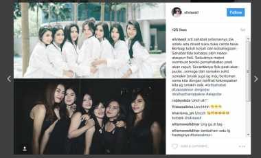 Netizen Terinspirasi Foto-Foto Viral Geng Sosialita Jessica Iskandar
