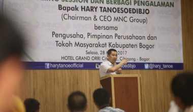 \Hary Tanoe : Strategi Pembangunan Ekonomi Harus Diubah\