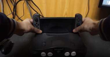 Gamer Ini Ubah Konsol Klasik Nintendo 64 Jadi Dock Switch