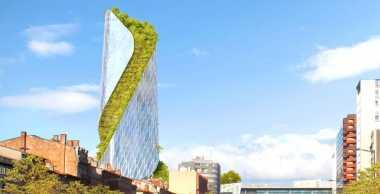\Gedung Setinggi 150 Meter Ini Bakal Dikelilingi Taman Vertikal Loh!\