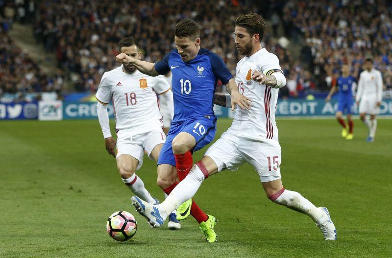 Prancis Tahan Imbang Spanyol di Babak Pertama