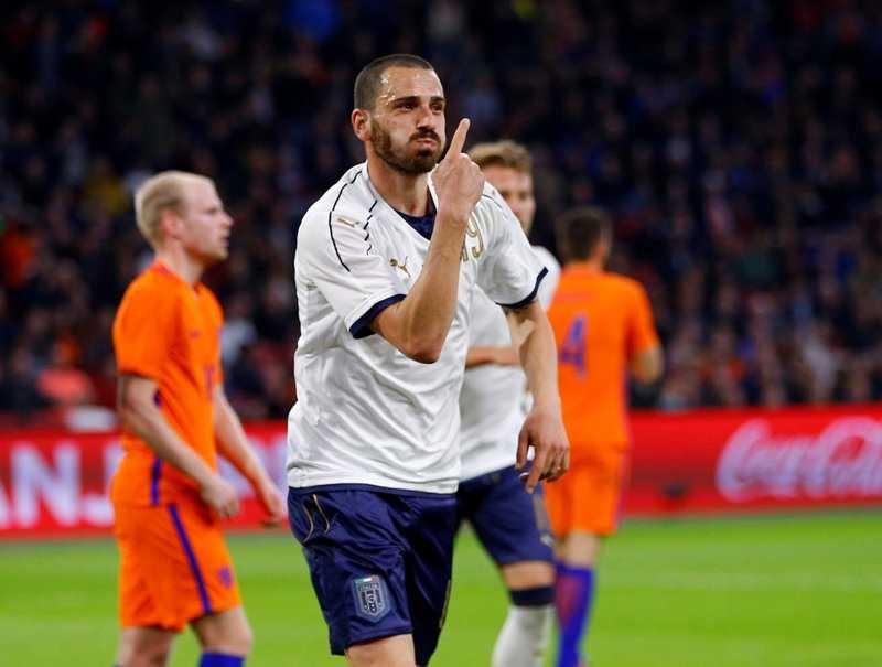 Laga Persahabatan: Italia Taklukkan Belanda 2-1