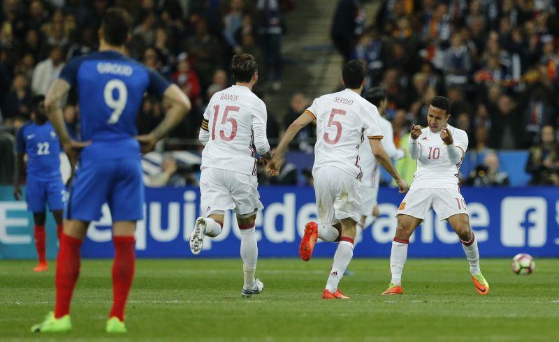 Laga Persahabatan: Takluk di Kandang Sendiri, Prancis Dipermalukan Spanyol 0-2