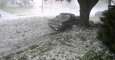 Tak Bisa Diprediksi, Ini Indikasi Terjadinya Hujan Es