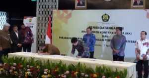 12 Kontrak Karya Tambang dan 15 PKP2B Resmi Diamandemen!
