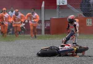 Marquez Terpeleset di GP Argentina, Suppo Salahkan Sirkuit Termas de Rio Hondo