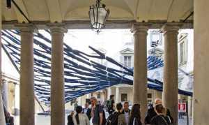 Arsitek di Milan Ciptakan Kanopi Berbahan Celana