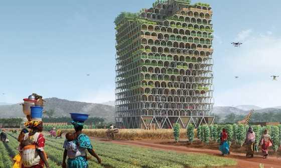 Atasi Persoalan Pangan, Arsitek Ini Rancang Gedung Vertikal untuk Bertani