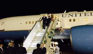Wapres AS Mike Pence Tiba di Bandara Halim Perdanakusuma