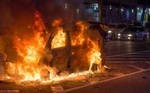 Polisi Bidik Pemilik Mobil Terbakar di Dekat Pengajian FPI