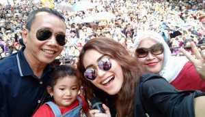 FOTO: Rayakan Hari Kartini, Bilqis Beri Semangat untuk Ayu Ting Ting