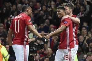 Lewati Laga Dramatis, Man United Melaju ke Semifinal Liga Eropa 2016-2017