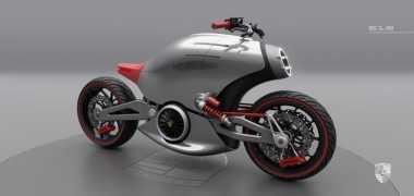 Ini Sepeda Motor 'Porsche' Lho