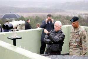 Wapres Mike Pence: AS dan Sekutunya Akan Terus Tekan Korut