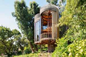 Uniknya Rumah Pohon Abal-Abal di Cape Town