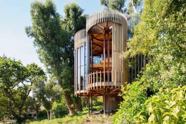 \Uniknya Rumah Pohon Abal-Abal di Cape Town\