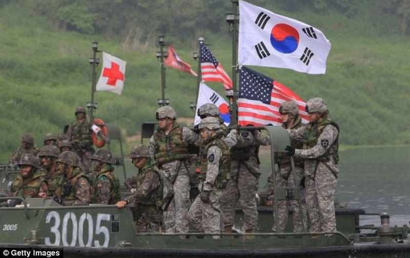 Militer AS di Korsel Gelar Latihan Evakuasi Perang Juni Mendatang