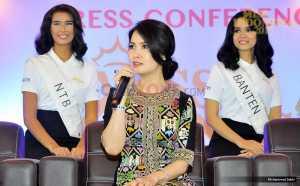 MISS INDONESIA 2017: Liliana Tanoesoedibjo Bahagia Sambut Miss Indonesia 2017