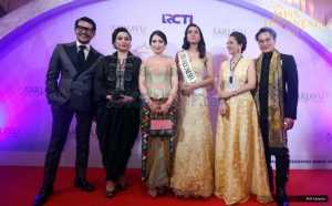 MISS INDONESIA 2017: Meski Tidak Menang, Liliana Tanoesoedibjo Harap 33 Finalis Lain Menjadi Perempuan Tangguh