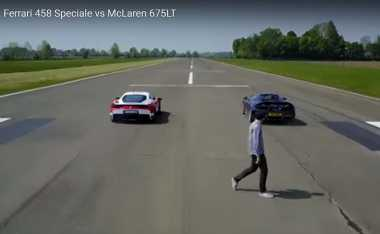 Ferrari 458 Speciale dan McLaren 675LT Adu Cepat, Siapa yang Menang?