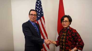 \Di Washington, Sri Mulyani Temui Menkeu AS Bahas FATF dan Tax Amnesty\