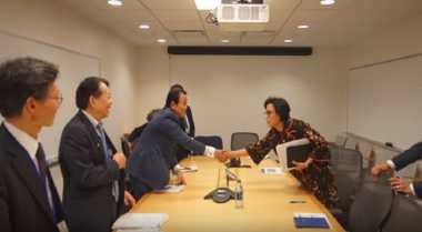 Sederet Pertemuan Sri Mulyani dengan Para Menkeu Dunia di AS