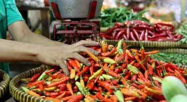 \Harga Pangan Hari Ini, Cabai Rawit Merah Turun Dijual Rp60.000/Kg\