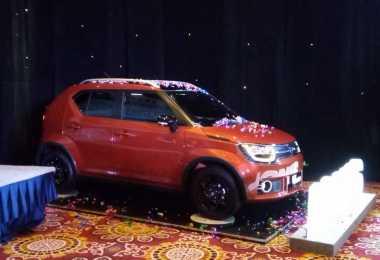 15 Unit Suzuki Ignis Jelajahi Kemacetan Jakarta