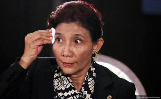 Kala Menteri Susi Khawatir Stok Ikan di Indonesia Berkurang