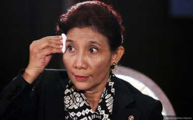 \Kala Menteri Susi Khawatir Stok Ikan di Indonesia Berkurang\
