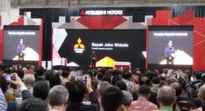 Presiden Jokowi Resmikan Pabrik Baru Mitsubishi di Bekasi