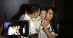Nagita Slavina Bantah Rafatar Lebih Dekat dengan Baby Sitter