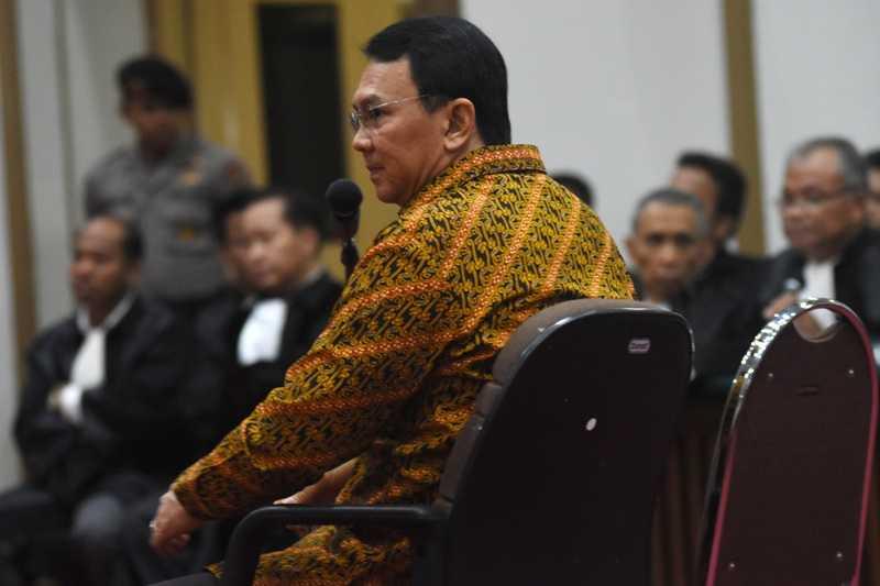 JPU Tak Ajukan Replik, Hakim Akan Putuskan Nasib Ahok pada 9 Mei 2017