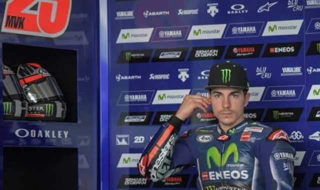 Gagal Finis di MotoGP Austin, Vinales <i>Ogah</i> Salahkan Michelin